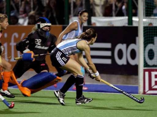 Argentina e Holanda final campeonato hoquei feminino