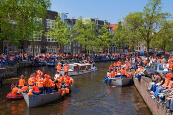 Dia da Rainha em Amsterdam