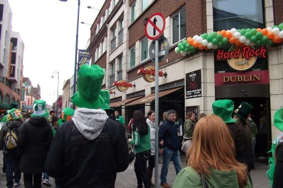 Temple bar - Um dos mais famosos pontos turístico de Dublin