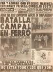 The Cure Ferro 1987
