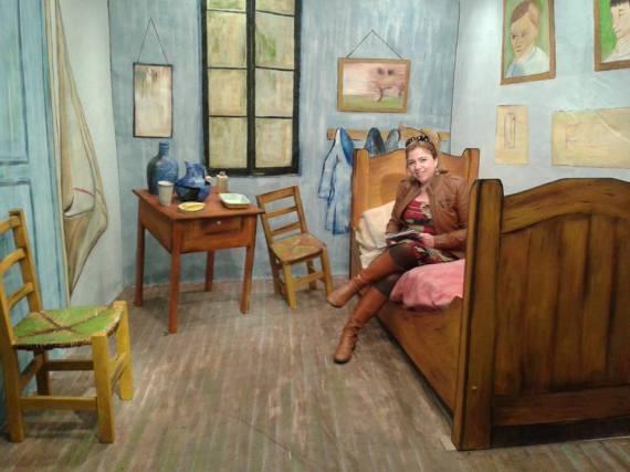 Mostra interativa de Van Gogh em Buenos Aires