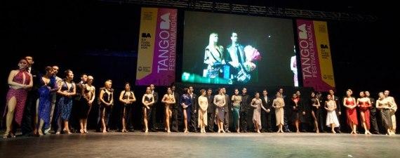 Finalistas tango escenario 2012