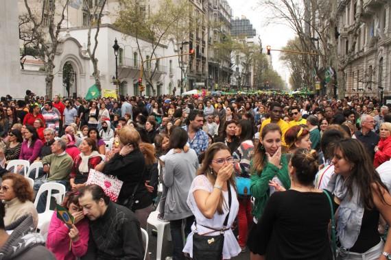 Festa brasileira em Buenos Aires